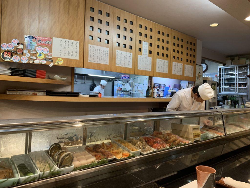 焼津のお寿司屋さん、五金