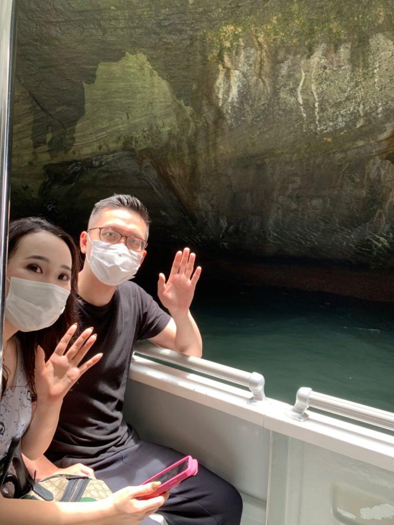 堂ヶ島クルーズで青の洞窟へ!
