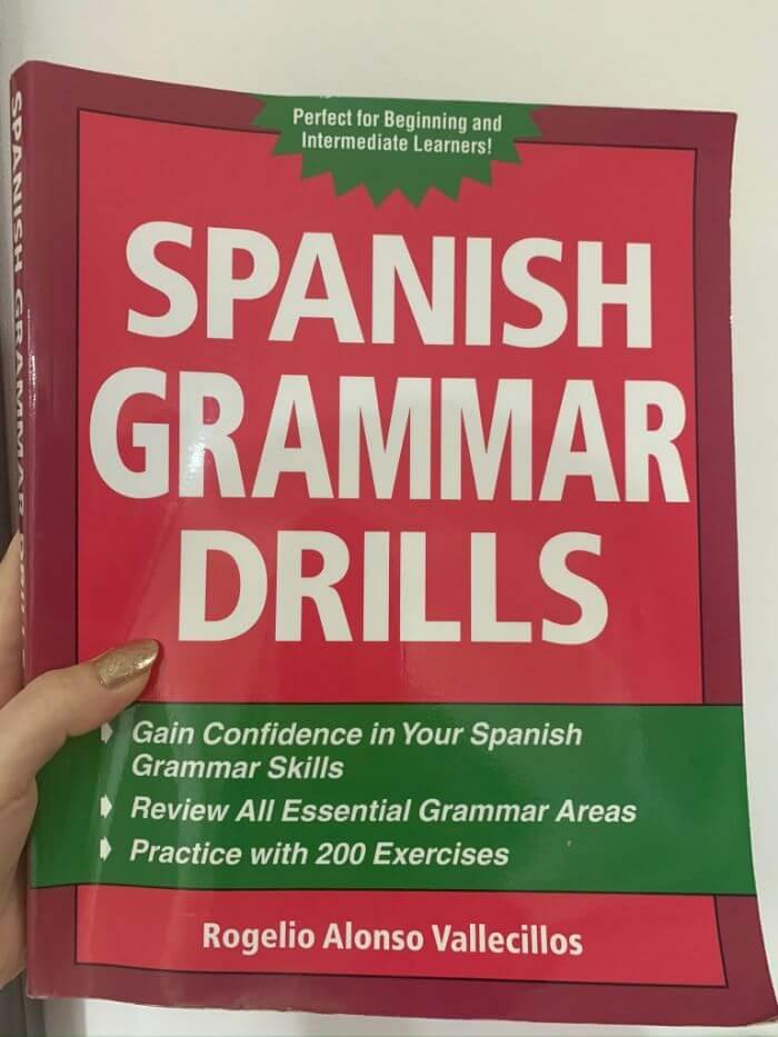 おすすめスペイン語教科書、Spanish Grammar Drills