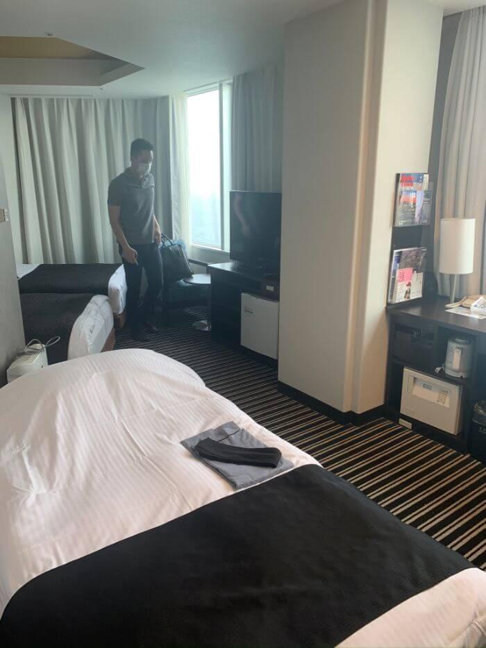 アパホテル&リゾート幕張の部屋