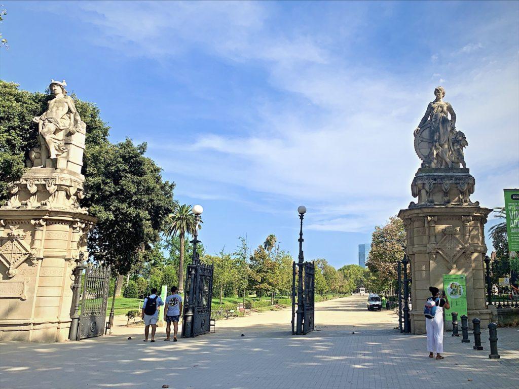 バルセロナの緑溢れる公園シウタデリャ公園
