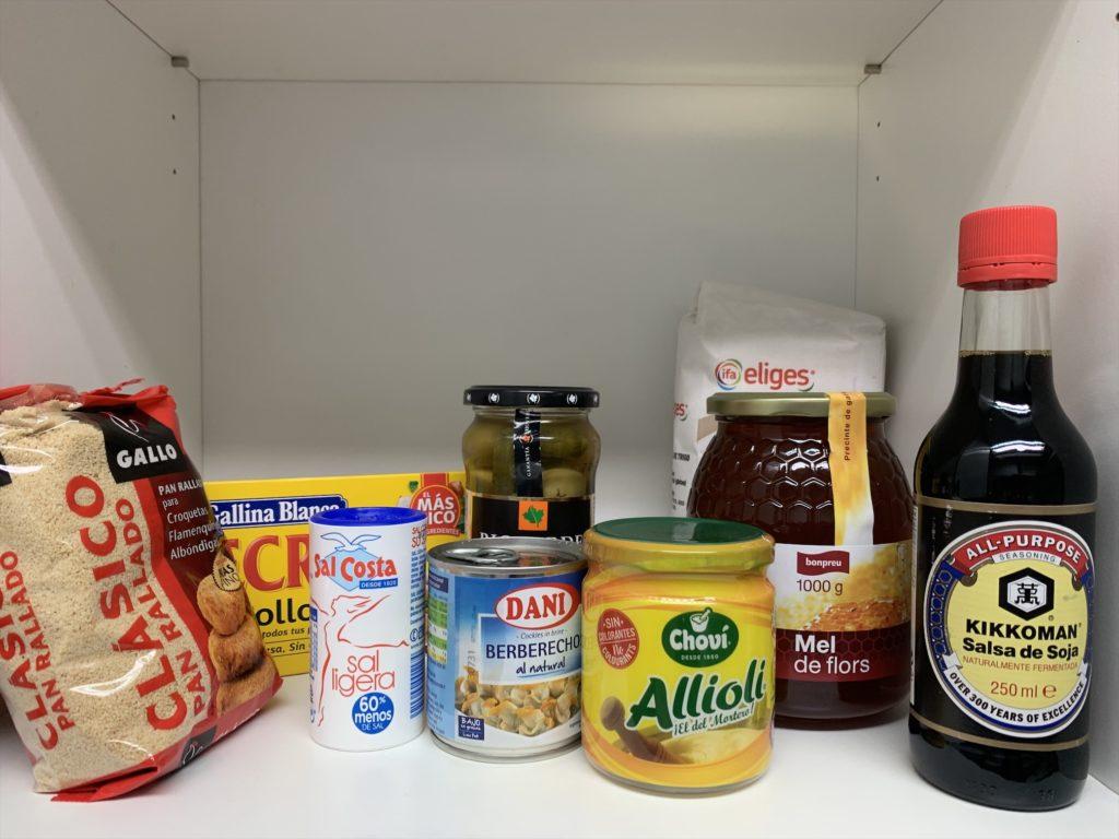 スペインスーパーマーケットのオリーブオイル