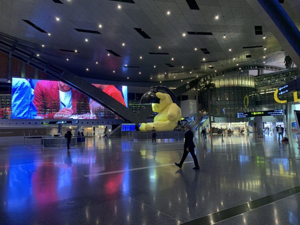 ハマド国際空港、コロナ期間中
