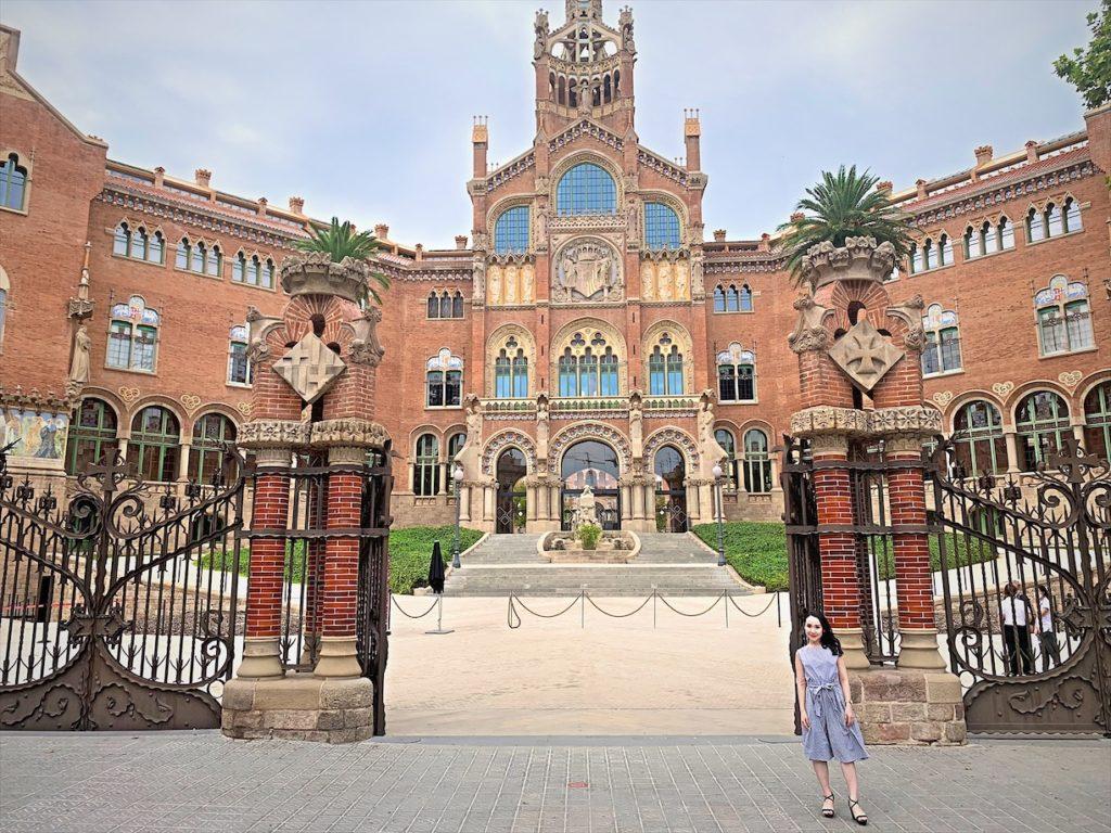世界一美しい病院!サンパウ病院見学