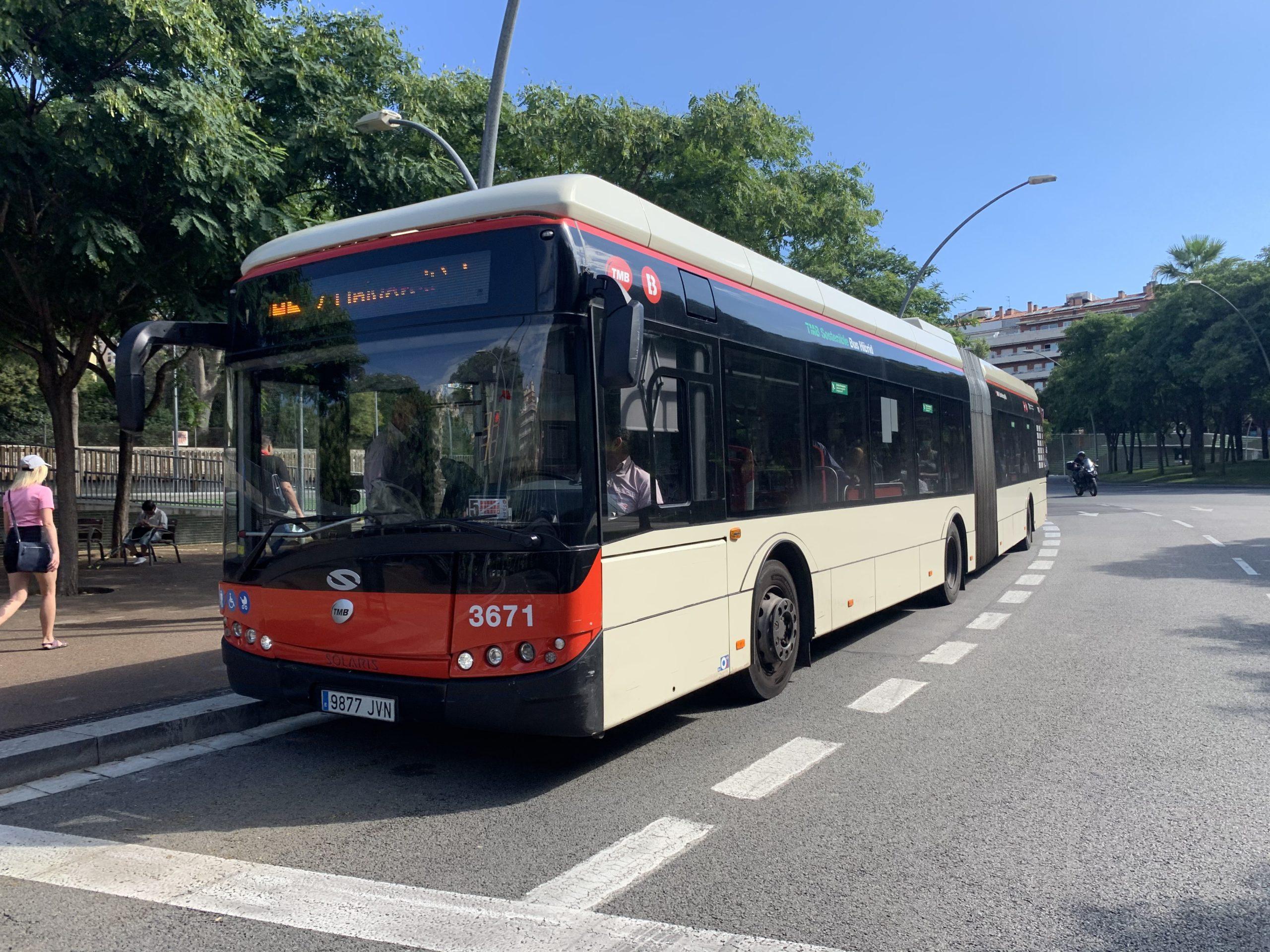 スペインバルセロナでバスに乗った話