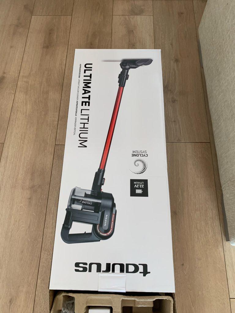 スペインで購入した掃除機