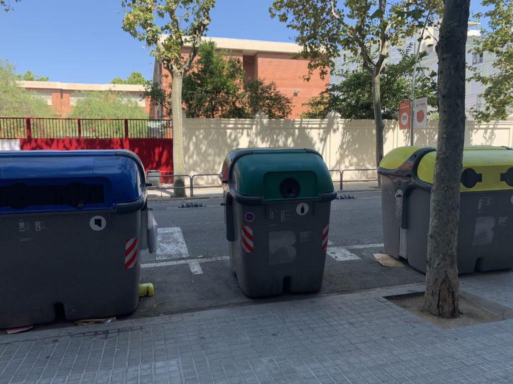 スペインのゴミ捨て場