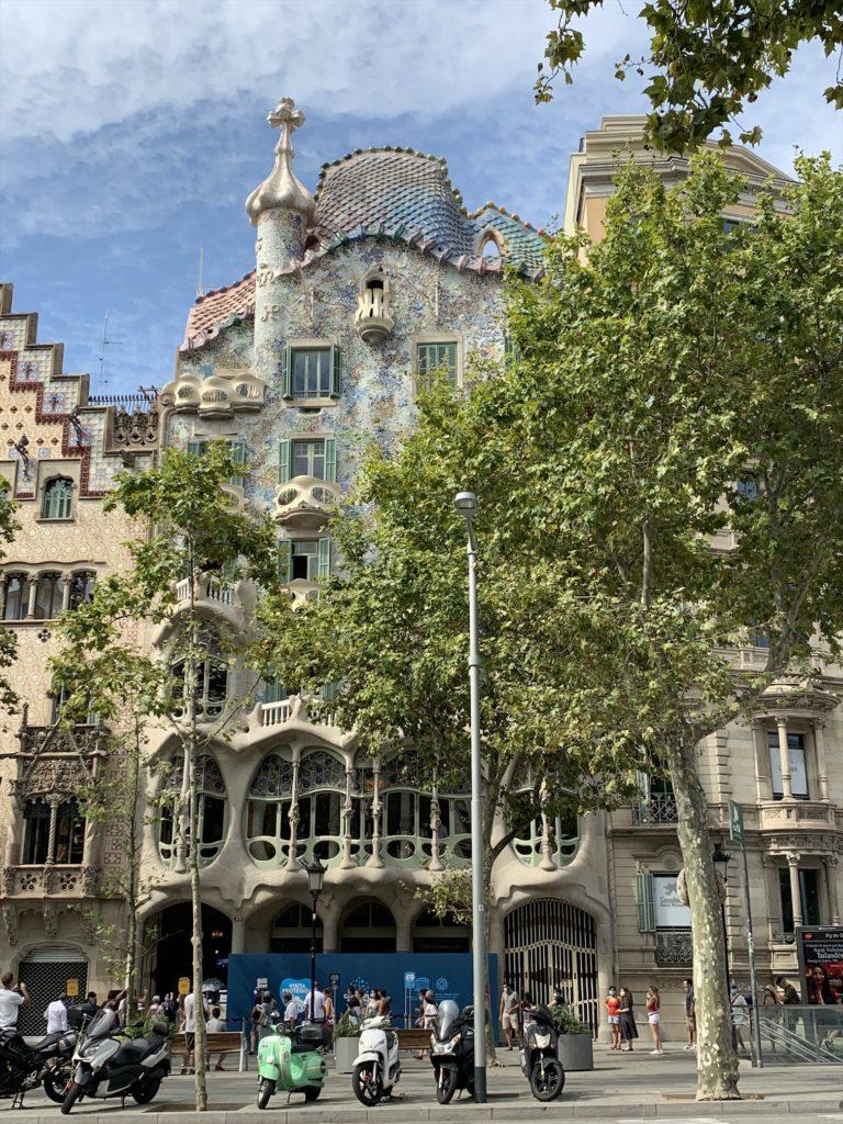 スペインのガウディ作品、カサバトリョ