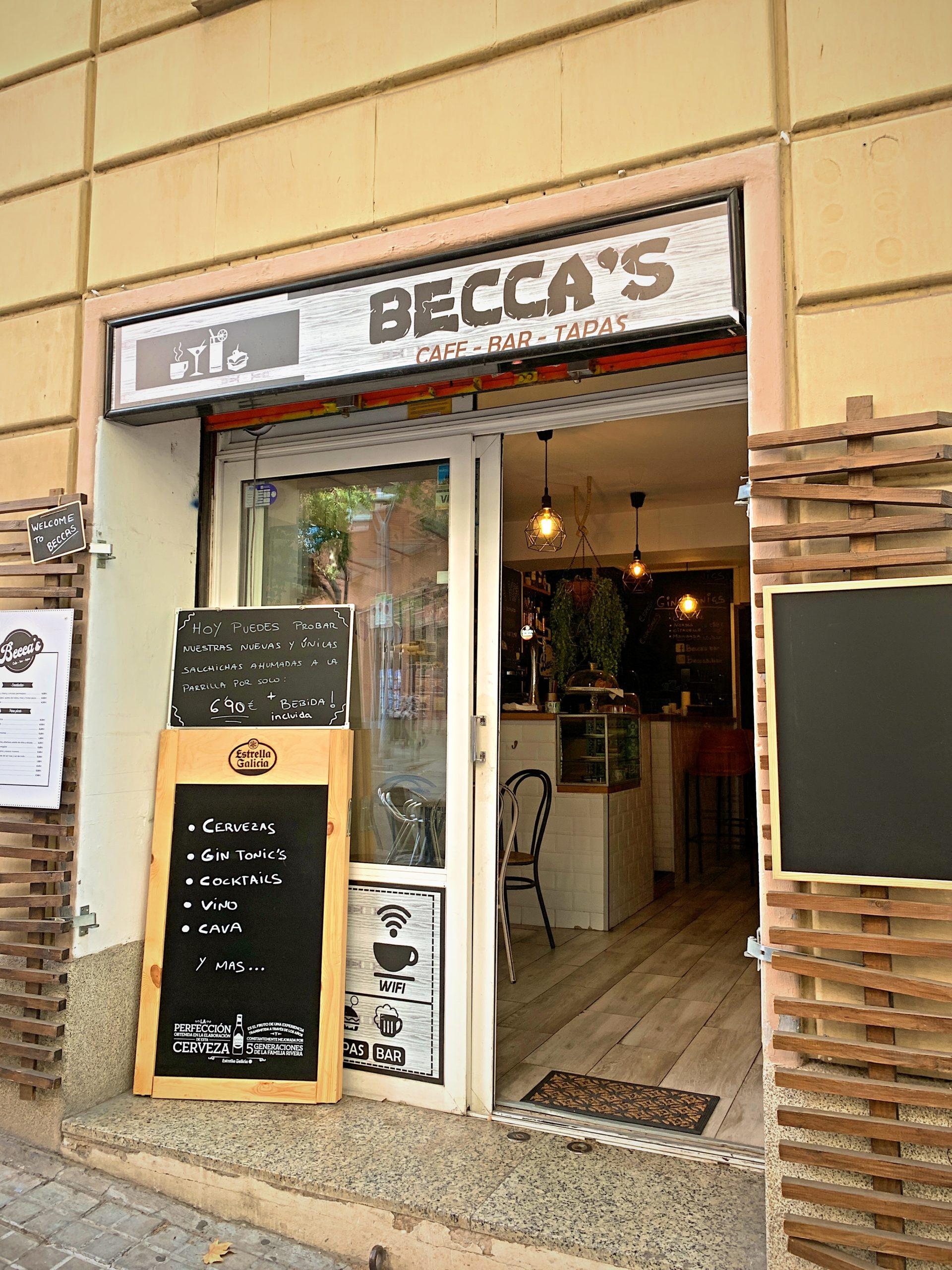 バルセロナのモーニングカフェ