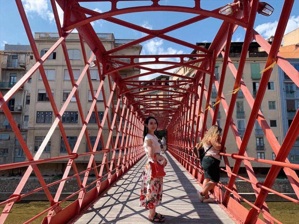 バルセロナからジローナに日帰り旅行!「オニャール川のエッフェル橋」