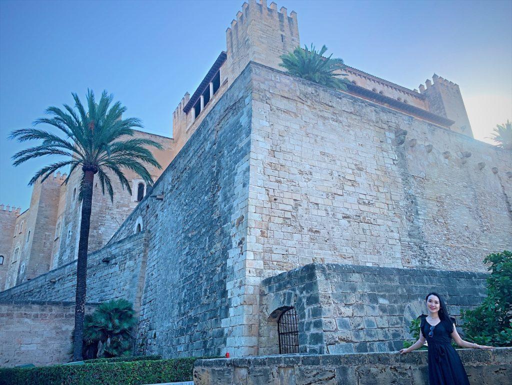 アルムダイナ宮殿とマヨルカ大聖堂観光ブログ