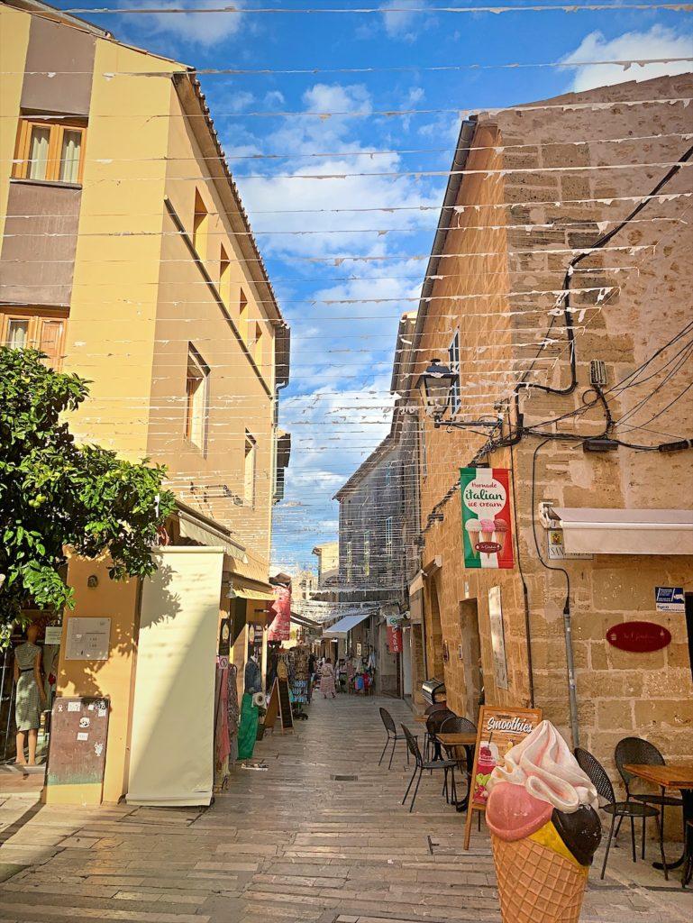 アルクディア、中世の街並みが残る街inマヨルカ島