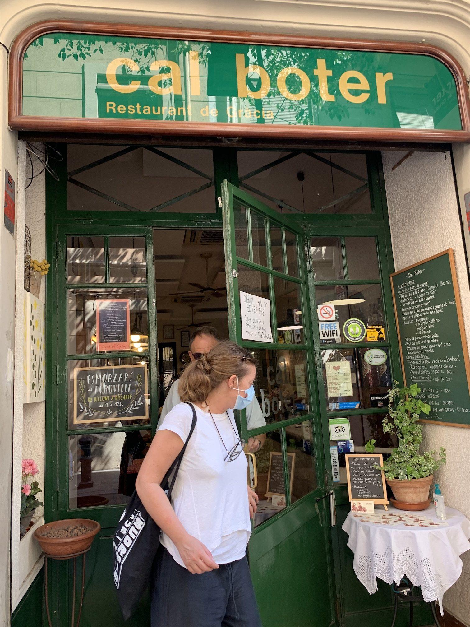 バルセロナのグラシア地区カタラン料理屋さん