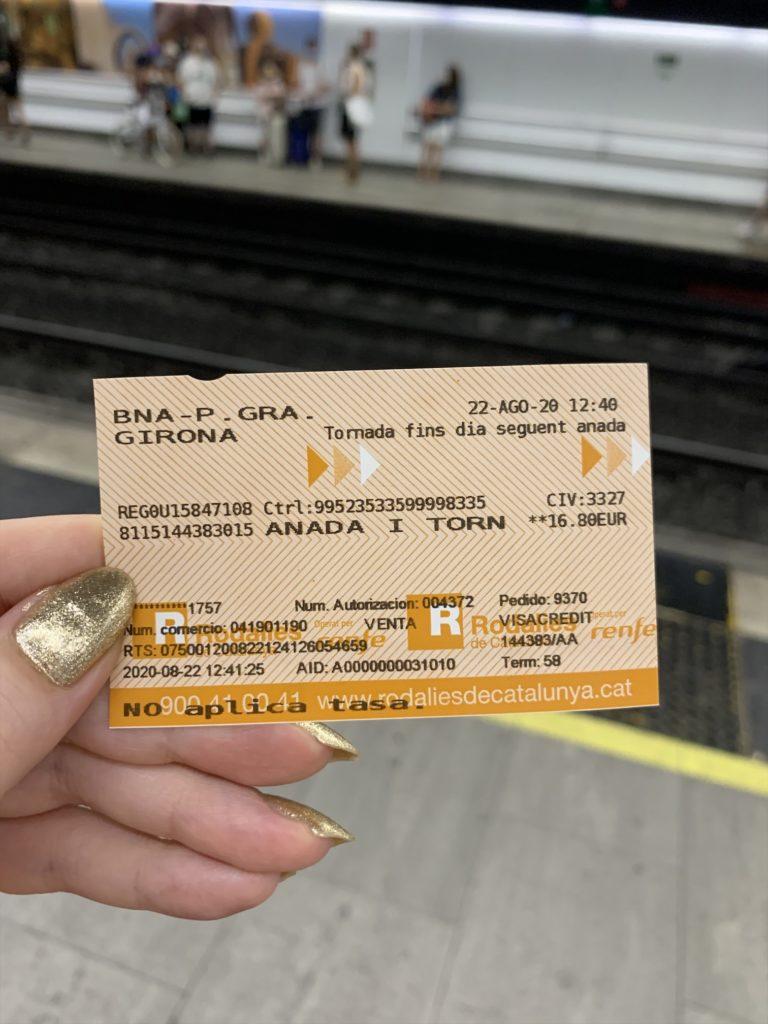 バルセロナからジローナへの行き方