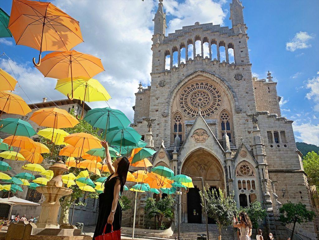 ソーリェルの大聖堂!マヨルカ島旅行記