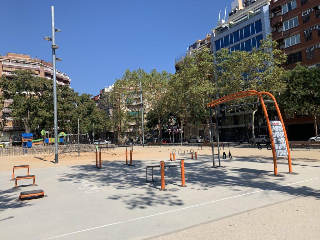 バルセロナの公園