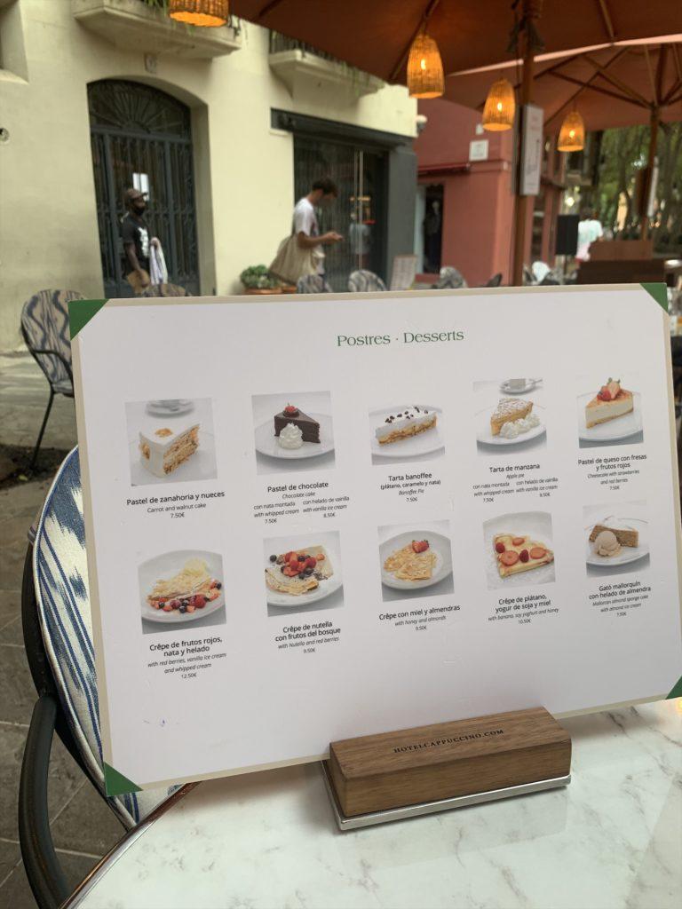 絶品ケーキが楽しめるパルマのカフェ