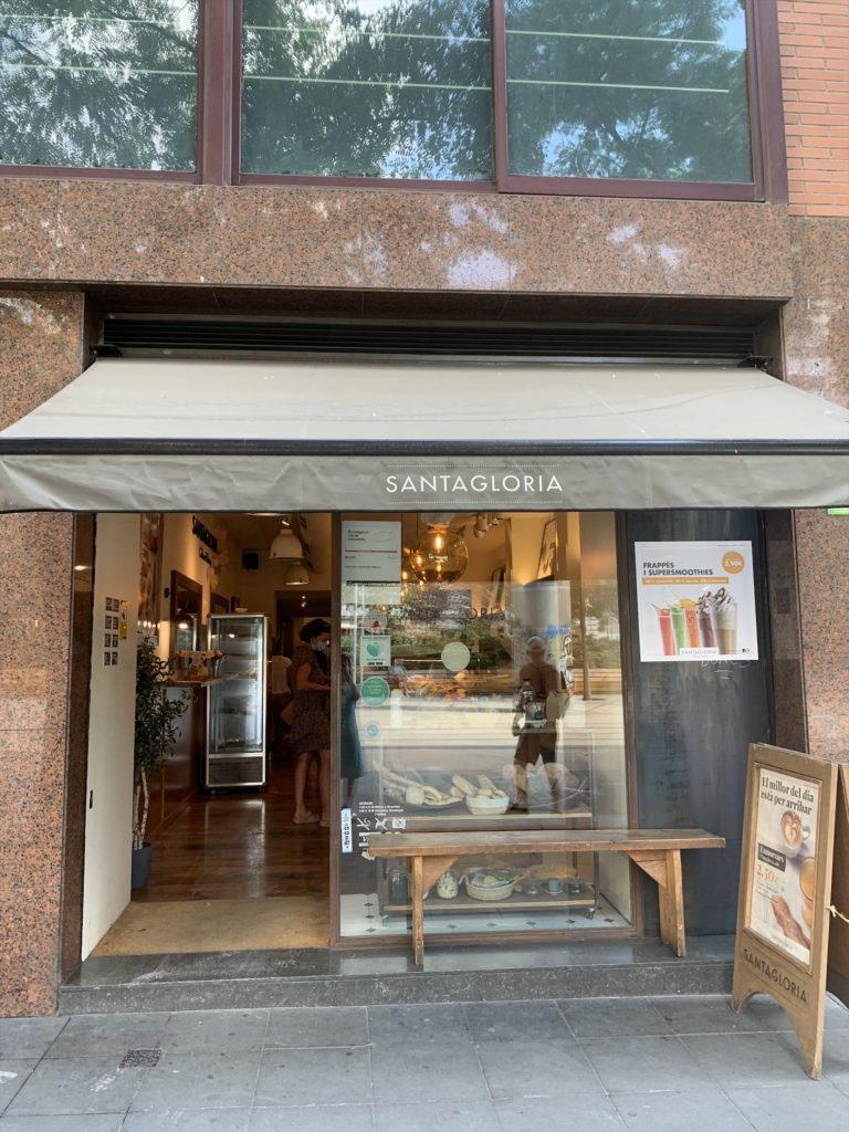 サンタグロリア(バルセロナのカフェ)で朝ごはん