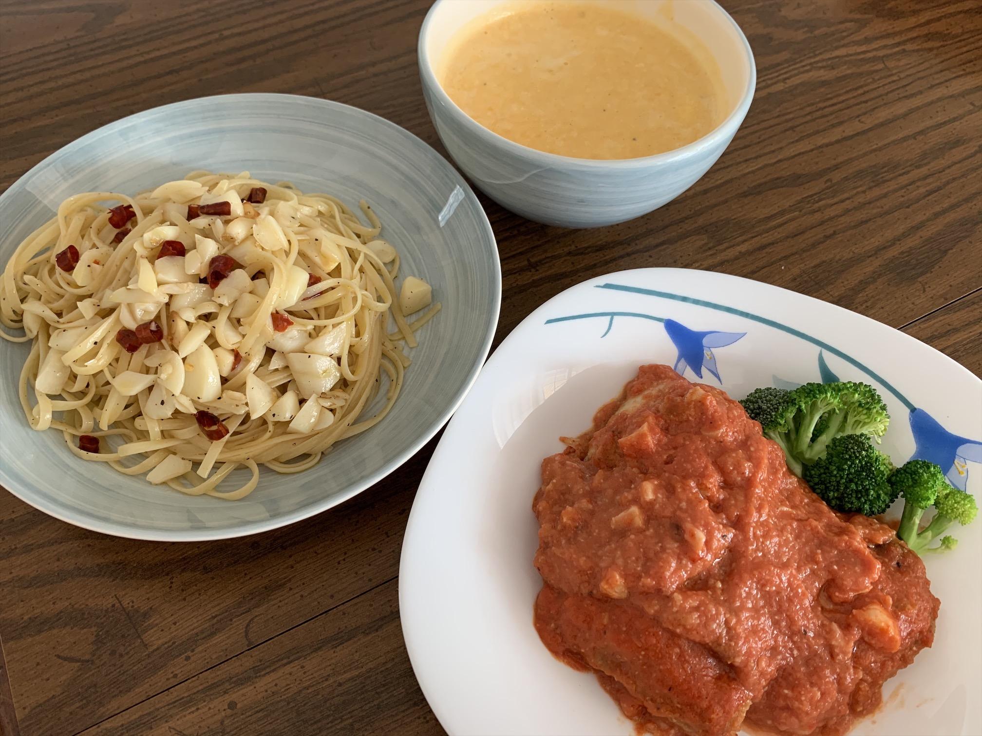 海外スペインお家ご飯、タラのトマト煮込みレシピ