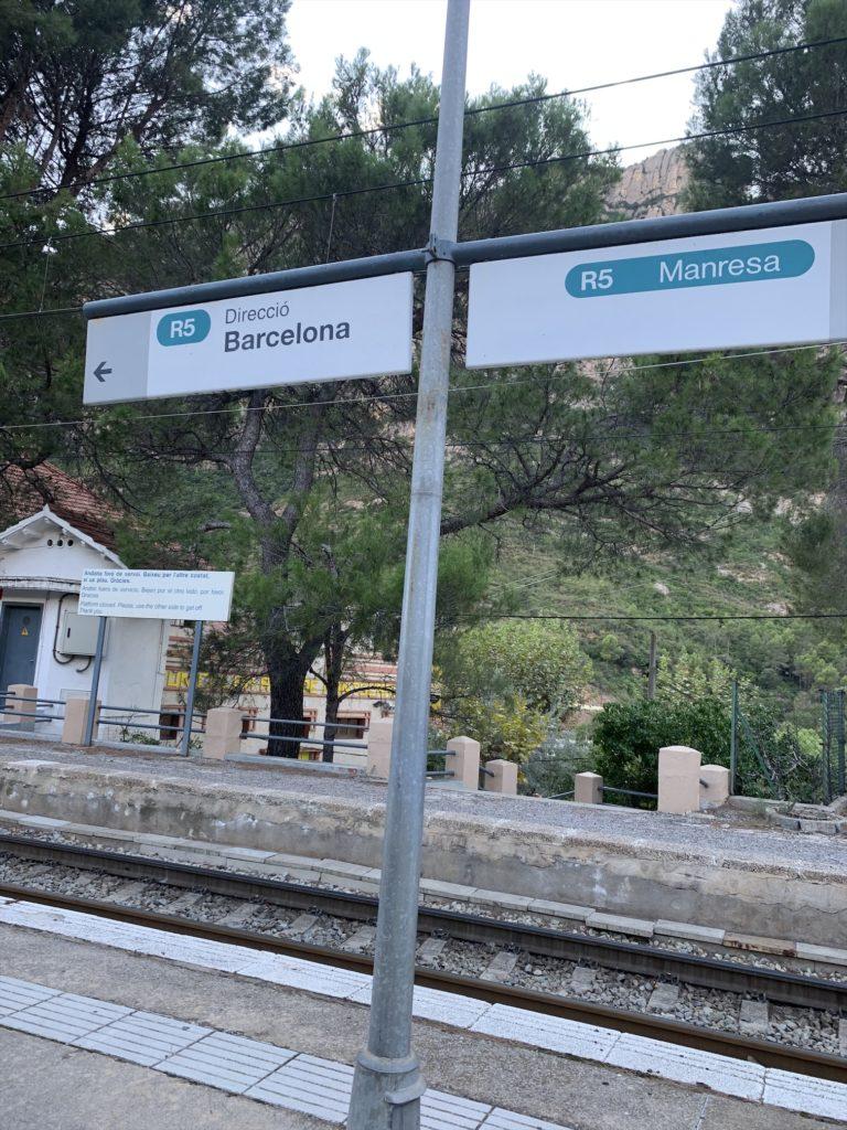 バルセロナで登山!モンセラットまで電車で向かう