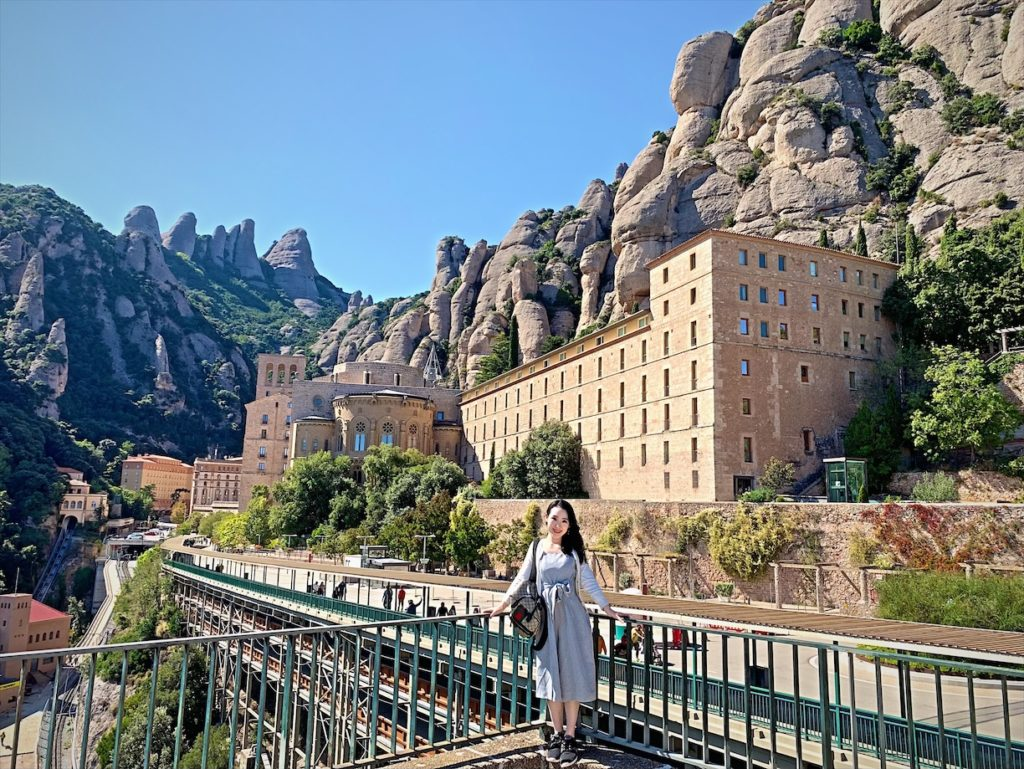スペイン在住日台夫婦が行くモンセラット観光