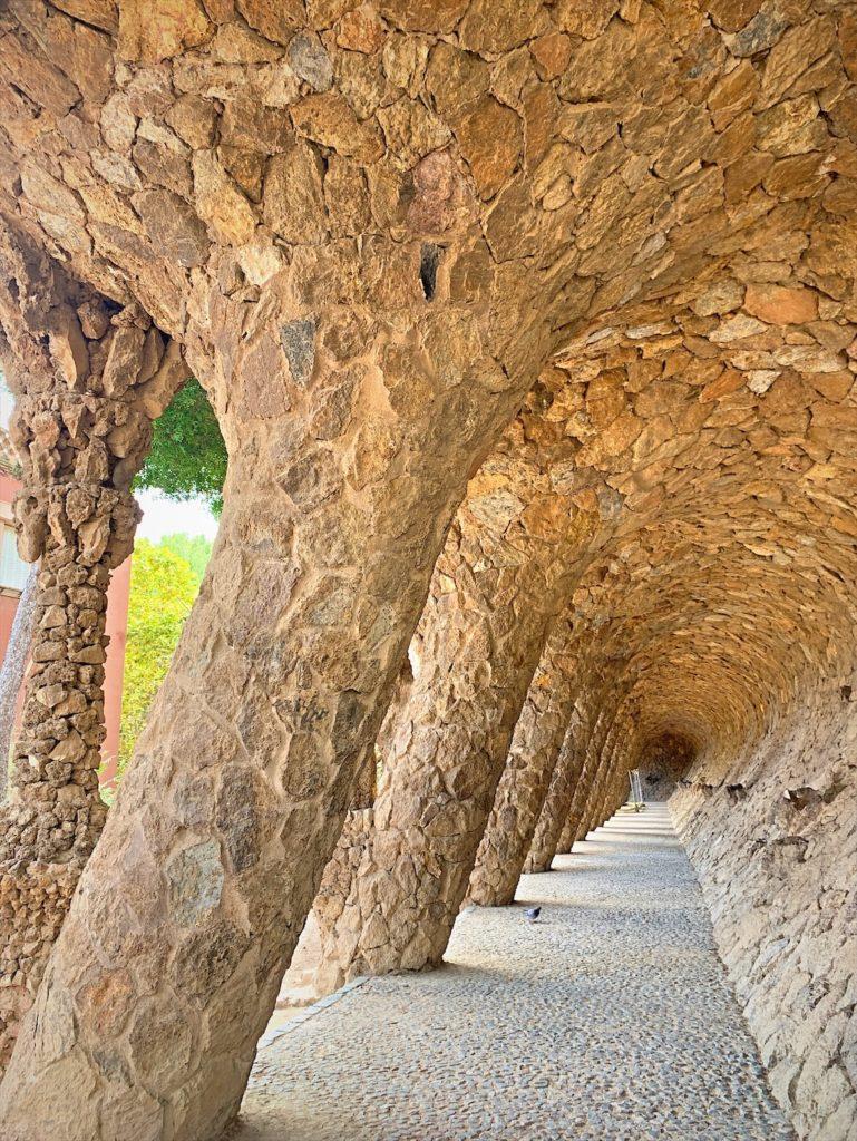 バルセロナ在住ブログ、グエル公園観光