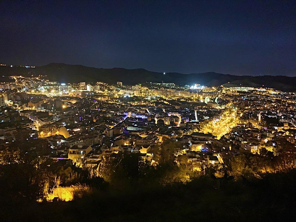 バルセロナの夜景一望スポット、カルメル要塞ブログ