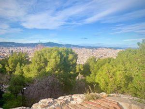 バルセロナ観光、モンジュイックの丘ブログ
