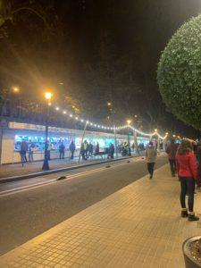 バルセロナで食べ歩き出来る通りGran Via