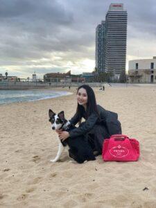 バルセロナのビーチへお散歩