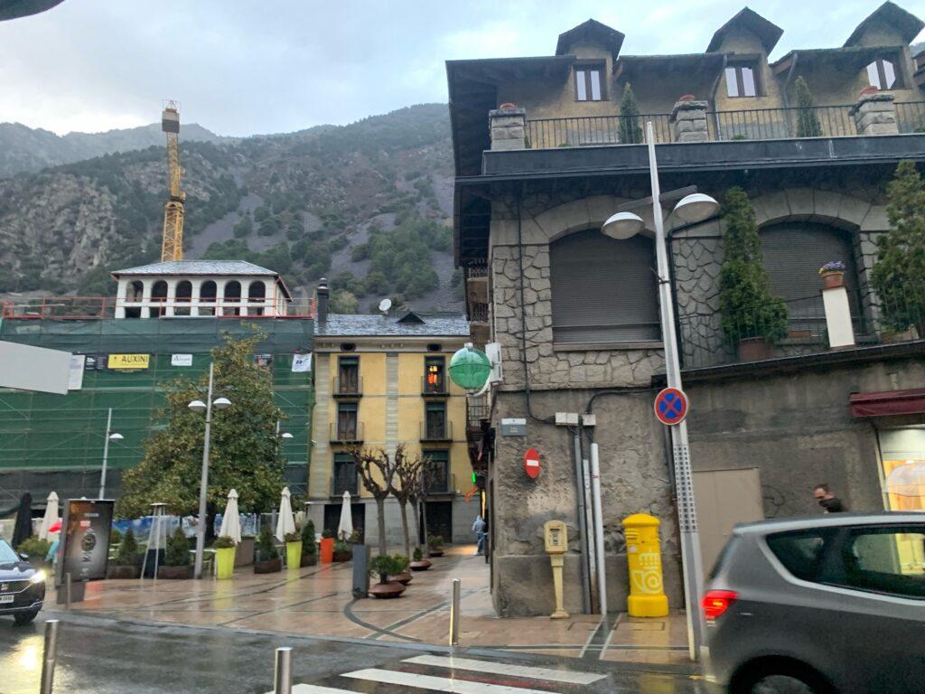 バルセロナからアンドラへ旅行に