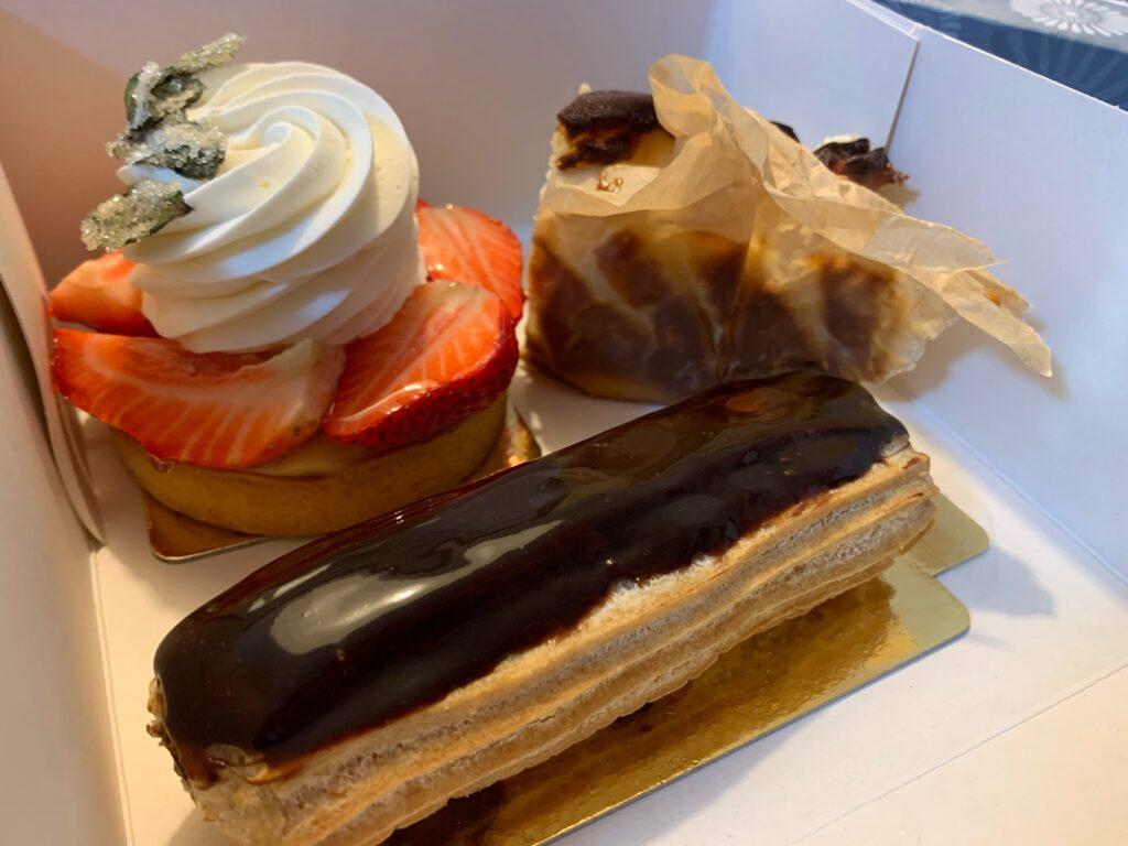 バルセロナのフランスケーキ屋さん