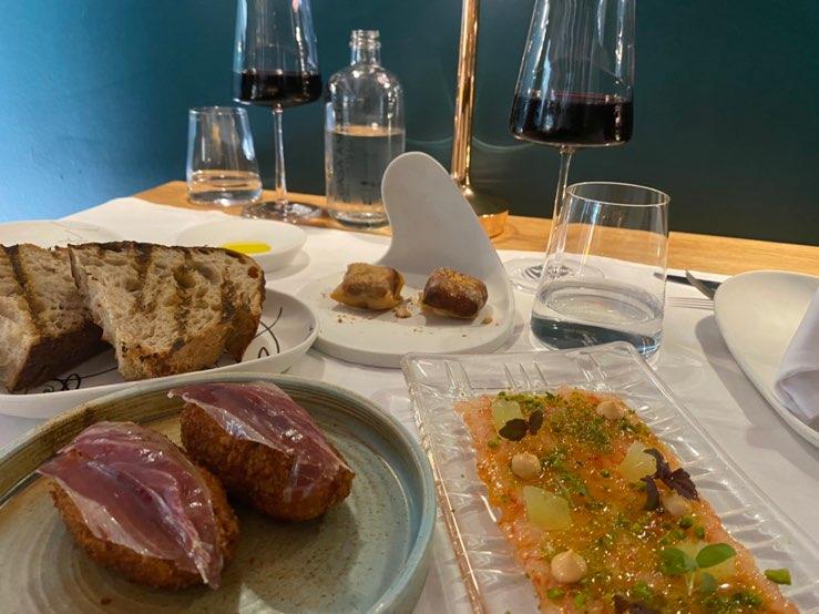 但馬牛が食べれるバルセロナのスペインレストランCasa Amalia