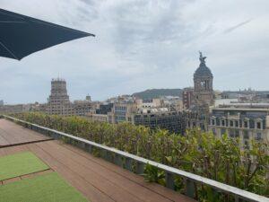 マンダリンオリエンタルバルセロナのテラスバー「Terrat」