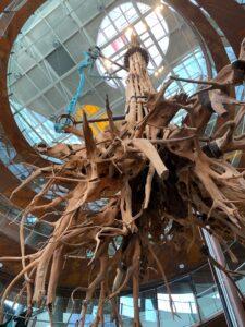 バルセロナのコスモ・カイシャ(Cosmo Caixa)自然博物館観光