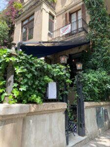el mercader de l'eixampleバルセロナのお洒落レストラン