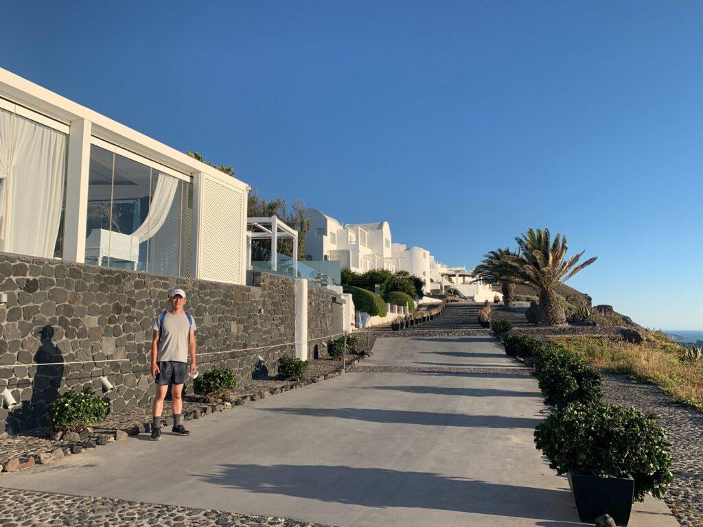 日台夫婦のサントリーニ島旅行
