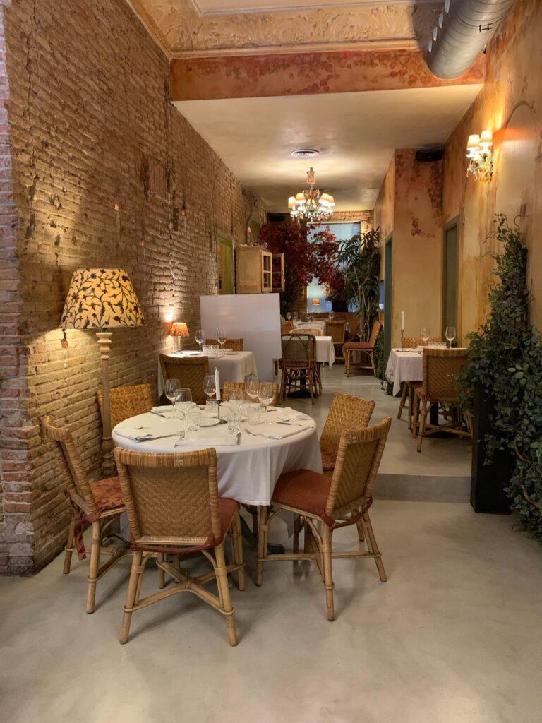 誕生日にぴったりなバルセロナの地中海レストランRestaurante Antigua