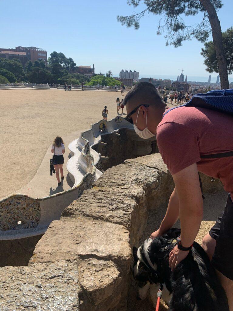 バルセロナが一望できる場所、ブンカー!