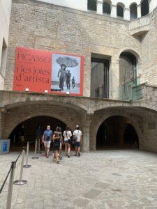 バルセロナのピカソ美術館へ