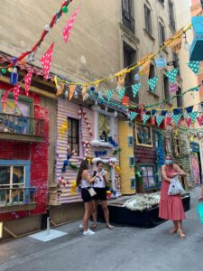 バルセロナのグラシア祭りブログ