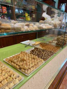 バルセロナのアラブ菓子やさん