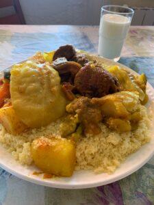 モロッコ料理作りにチャレンジ