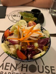 Ramen House Barcelonaで和食を食べる